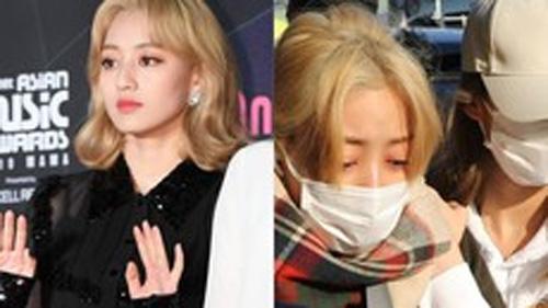 Jihyo ngã sấp mặt, Nayeon lo sợ bị theo dõi, Twice liên tiếp gặp hạn, JYP nói gì?