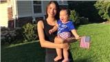 HOT: Lộ ảnh chính diện rõ nét con trai Hoa hậu Phạm Hương, mới 1 tuổi nhưng đã thừa hưởng đặc điểm này của mẹ