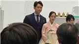 Vợ chồng Kim Tae Hee - Bi Rain hạnh phúc bên cạnh nhau đi dự sự kiện