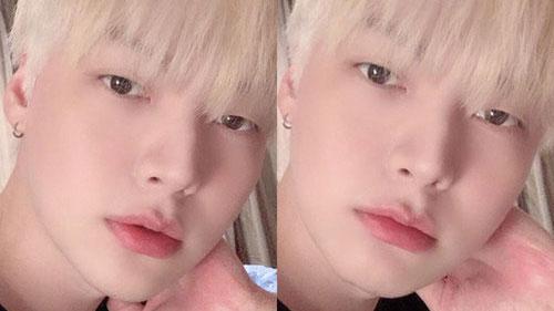 Ahn Jae Hyun nhuộm tóc vàng, xỏ khuyên tai hoàn toàn 'lột xác' sau 5 tháng vướng ồn ào ly hôn