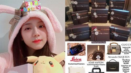Choáng với quà sinh nhật fan Trung Quốc tặng Jisoo: Toàn đồ hiệu với tổng trị giá hơn nửa tỷ, nhiều đến độ mở được shop cũng nên