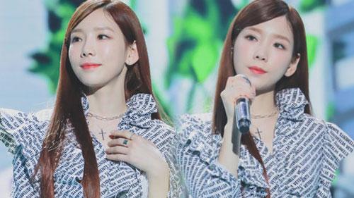 Tham dự lễ trao giải, Tae Yeon (SNSD) khiến cư dân mạng phát sốt với nhan sắc chuẩn 'cực phẩm'