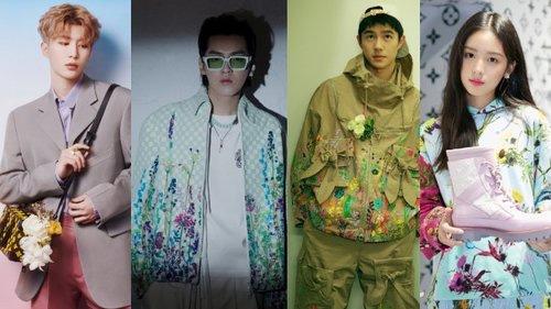 Sự kiện Thời trang nam Louis Vuitton Xuân - Hè 2020 : Ngô Diệc Phàm - Phạm Thừa Thừa cuốn hút, Châu Dã - Lý Uyển Đồng mỗi người một vẻ