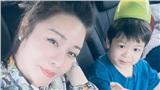 Nhật Kim Anh vui vẻ bên con trai giữa lúc đang kiện tụng với chồng cũ