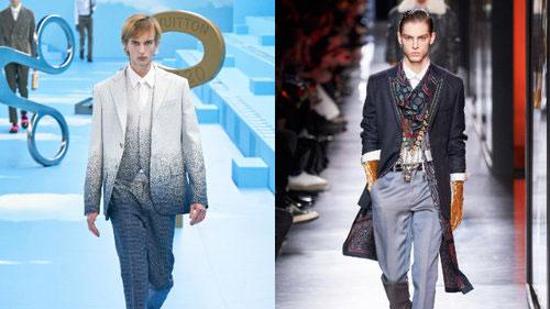 Nếu BST Gucci là thảm họa thì loạt thiết kế của show Dior Men và Louis Vuitton lại được ưu ái
