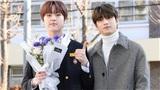 Lee Han Gyul (X1) dẫn Nam Do Hyun đi dự lễ tốt nghiệp: Đẹp xuất sắc trong đồng phục học sinh!