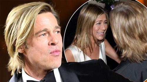 Sau cuộc chạm mặt 'lịch sử', Jennifer Aniston lại bí mật gặp gỡ chúc mừng Brad Pitt dù không có lịch trình tại Oscar năm nay