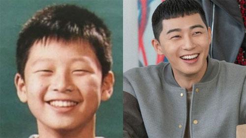 Tiết lộ ảnh tốt nghiệp tiểu học 'mắt tít, mái ngố' của Park Seo Joon, ai cũng gật gù: Quả thật sinh ra để làm ông chủ quán nhậu DanBam