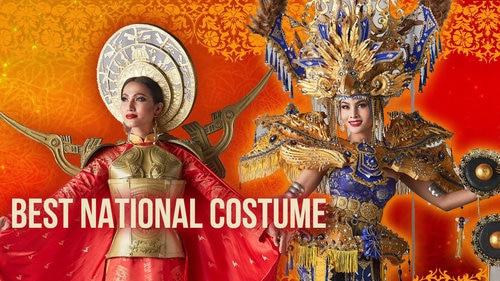Mỹ nhân Malaysia thắng giải Trang phục dân tộc, áo dài 'Bà Triệu' của Hoài Sa gây tiếc nuối