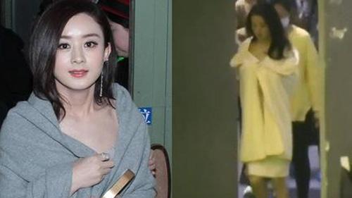 Hậu kết hôn với Phùng Thiệu Phong, Triệu Lệ Dĩnh lần đầu choàng khăn tắm hở hang ở phim trường