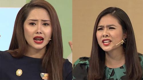 Diễn viên Vân Trang bật dậy khỏi bàn, tranh cãi với Tường Vi vì bất đồng quan điểm