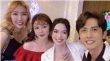 'Tình tin đồn' Ribi Sachi có mặt ở sự kiện của Ngô Kiến Huy, tránh chụp ảnh cùng nhau
