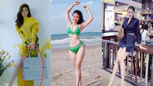 Sao Việt là 'nạn nhân' của photoshop: Người mất chân, người biến dạng cả tay lẫn đầu gối