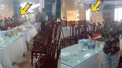 'Đại gia' đi ăn bữa cơm hơn 20 triệu nhưng vẫn ngồi đợi để lấy lại 12 nghìn tiến thừa khiến dân mạng tranh cãi