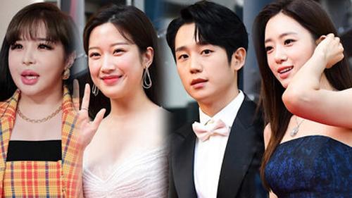 Thảm đỏ 'Oscar Hàn Quốc 2020': Jung Hae In - Eun Jung (T-ara) tỏa sáng, gương mặt 'lỗi' của Park Bom gây sốc