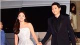Đoạn video Song Joong Ki - Song Hye Kyo tại lễ trao giải Baeksang cách đây 4 năm bất ngờ xôn xao trở lại: Từng nắm chặt tay nhau không rời như vậy