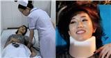 Thúy Ngân sau tai nạn dẫn đến bất tỉnh đi cấp cứu: Bị chấn thương cổ, gãy mũi, bác sĩ khuyên phải PTTM
