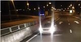 Chạy ngược chiều trên cao tốc, tài xế bị phạt 17 triệu đồng
