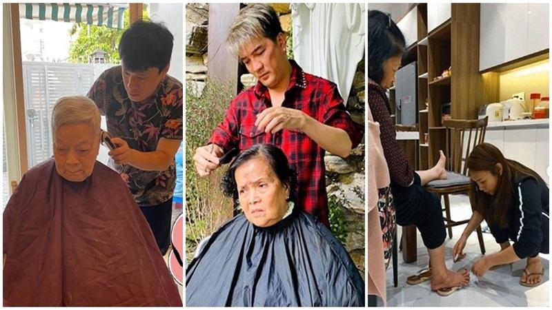 'Tan chảy' với những hình ảnh yêu thương đặc biệt của sao Việt dành cho ba mẹ