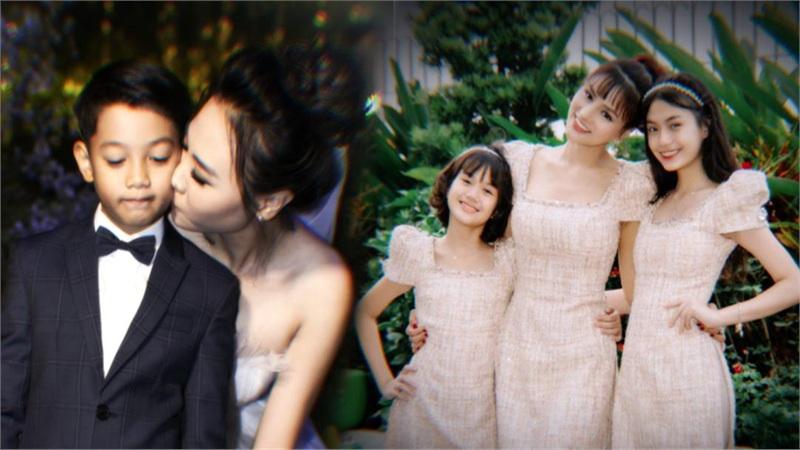 Những sao Việt được ngưỡng mộ vì làm mẹ kế nhưng thương con chồng hơn con ruột