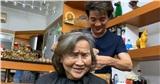 Được Đàm Vĩnh Hưng qua tận nhà cắt tóc, mẹ Hoài Linh nói câu xúc động