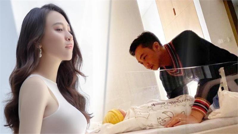 Đàm Thu Trang tiết lộ khoảnh khắc cực đáng yêu của chồng và con gái mới chào đời