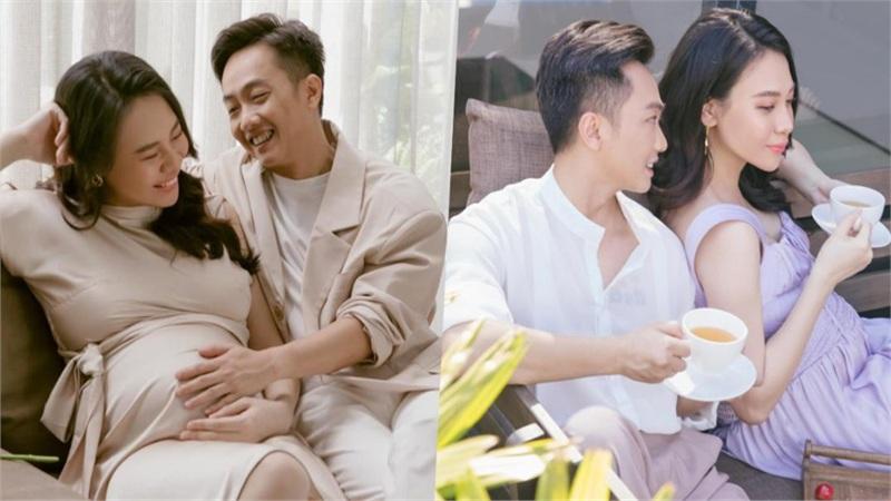 Hé lộ loạt ảnh 'ngọt như mật' của Cường Đô La - Đàm Thu Trang trước khi con gái chào đời