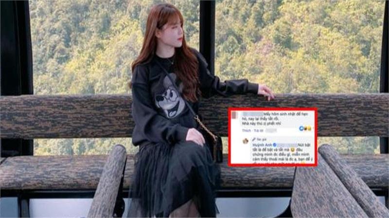 Bị 'cà khịa' vì thường xuyên bật - tắt chế độ hẹn hò với Quang Hải, Huỳnh Anh nói gì?