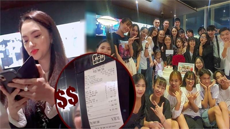 Chủ tịch Hương Giang chi hơn chục triệu để ăn tối cùng fan tại Hà Nội