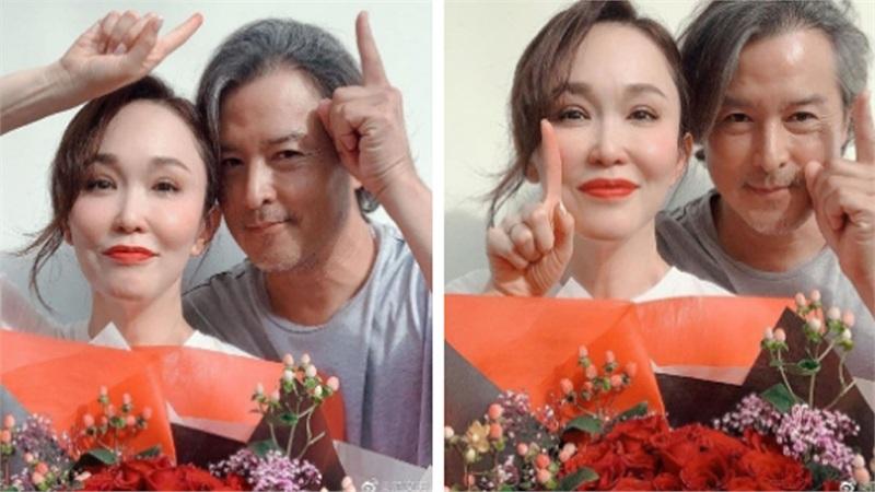 Bất ngờ với diện mạo già nua, râu tóc bạc trắng của 'Dương Quá' Lý Minh Thuận ở tuổi 49, bà xã bằng tuổi lại trẻ trung như gái 30