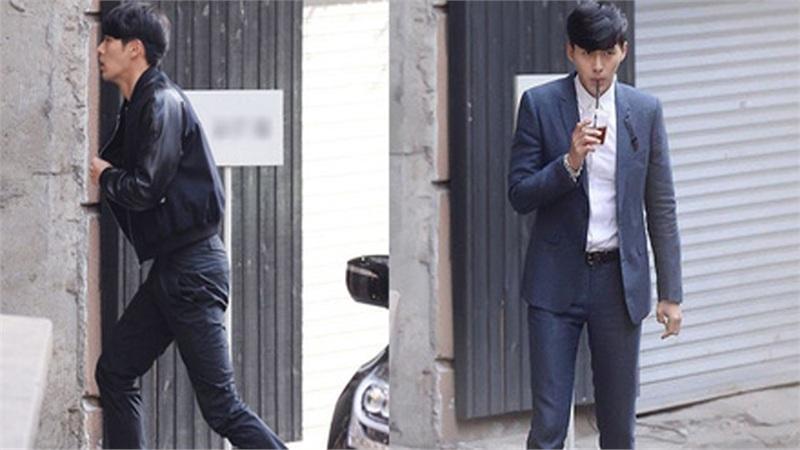 Dân mạng xôn xao trước khoảnh khắc Hyun Bin vội vã đi 'tân trang nhan sắc' bị Dispatch 'tóm được'