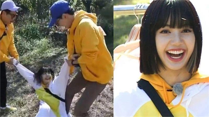 BLACKPINK tham gia Running Man: Lisa tưởng yếu đuối lại mạnh không tưởng, khiến Yoo Jae Suk phải nhờ trợ giúp