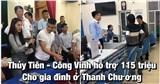 Thuỷ Tiên - Công Vinh hỗ trợ 115 triệu đồng cho một hộ dân ở Nghệ An