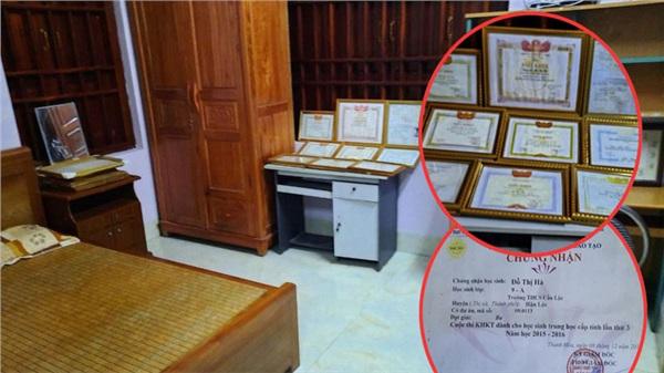 Tiết lộ phòng riêng của Hoa hậu Việt Nam Đỗ Thị Hà: Góc học tập với đủ loại giấy khen, 'soi' được cuốn sách cô yêu thích nhất