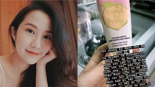 Vợ sắp cưới của Phan Thành khuyên các chị em không nên dùng 2 sản phẩm này nếu thuộc tuýp da khô