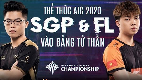 Chưa thi đấu hết vòng bảng, Saigon Phantom và Team Flash vẫn dư điểm để vượt qua bảng tử thần tại AIC 2020