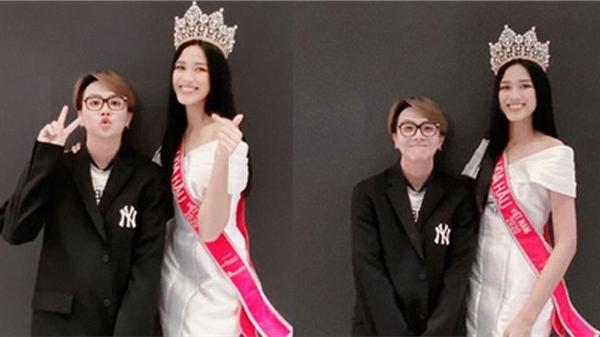 Duy Khánh phản ứng gay gắt khi bị mỉa mai cố tình chỉnh sửa ảnh để 'dìm hàng' Tân Hoa hậu Việt Nam