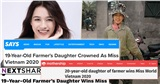 Truyền thông quốc tế ấn tượng về Đỗ Thị Hà, ngưỡng mộ hình ảnh 'con gái nông dân đăng quang hoa hậu'