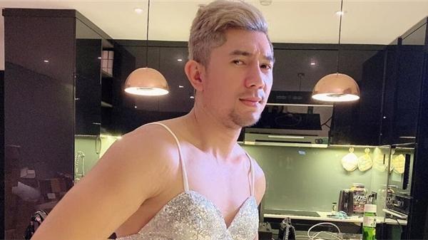 Lương Bằng Quang khiến dân mạng 'khóc thét' với hình ảnh diện váy ôm body gợi cảm