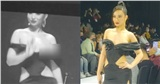 Sàn catwalk 'lắm biến' nhất Vbiz: Người mẫu diện đầm trễ nải lộ ngay vòng 1, đến siêu mẫu Võ Hoàng Yến mở màn còn vấp váy suýt ngã