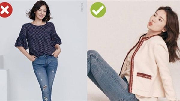 Từng có quá khứ diện quần jeans cũng già chát, nay Song Hye Kyo đã biết mặc kiểu quần kinh điển sao cho trẻ trung sang chảnh rồi!