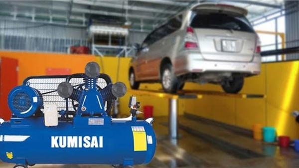 Top 4 máy nén khí rửa ô tô xe máy được tin dùng