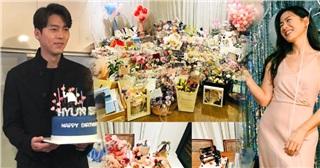 Son Ye Jin mừng sinh nhật tuổi 40, thấp thoáng hình ảnh Hyun Bin khiến dân tình bấn loạn!