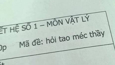 Những mã đề thi 'thần thánh' của thầy cô 'chuyên trị' học trò hay quay cóp