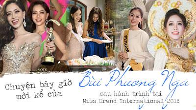Chuyện bây giờ mới kể của Bùi Phương Nga sau hành trình tại Miss Grand International 2018