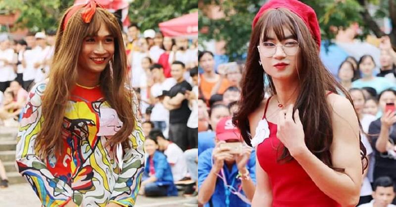 ĐH Kiến trúc Đà Nẵng gây sốt khi tổ chức thi Miss nhưng toàn thí sinh nam xinh như mộng