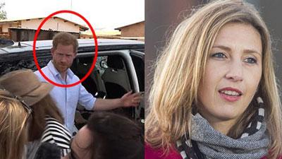 Lộ khoảnh khắc Hoàng tử Harry tỏ thái độ thô lỗ và ngạo mạn đối với một nữ phóng viên khiến cộng đồng mạng dậy sóng