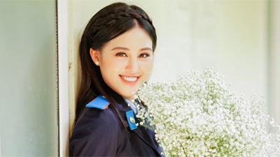 Ngắm vẻ đẹp trong trẻo của nữ sinh Học viện Cảnh sát 2 lần khoe sắc tại các cuộc thi hoa hậu