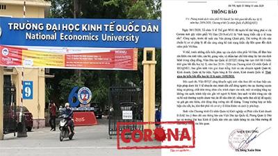 Phòng dịch Corona, nhiều trường đại học trên địa bàn Hà Nội cho sinh viên nghỉ Tết thêm 1 tuần