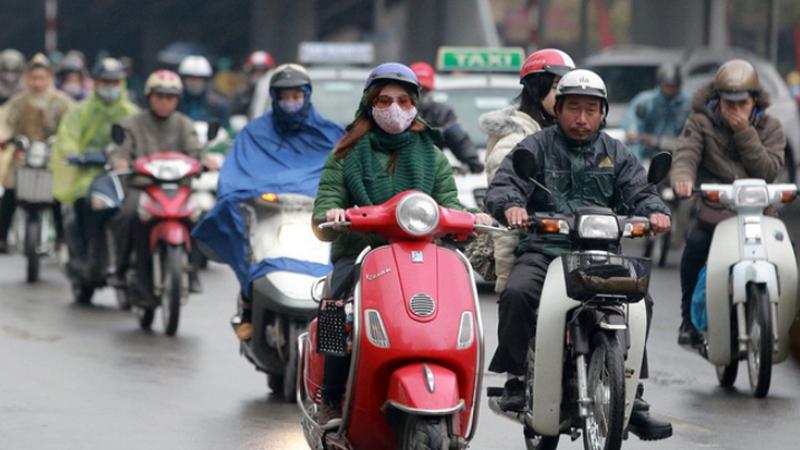 Miền Bắc chuẩn bị đón gió mùa đông bắc, Hà Nội có mưa rào